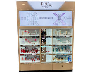 Olay-PDW Cosmetic Back Wall Product Display Shelf