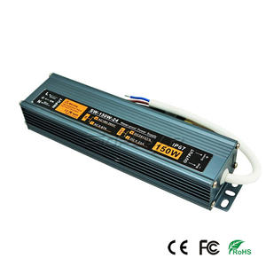 Wholesale Slim LED Power Supply Grey Color 24V 6.25A CE FCC Approved