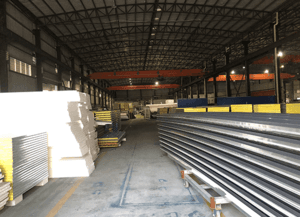 high quality customized Steel Sandwich Panel supply