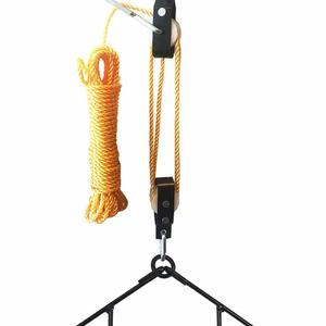 Gambrel And Pulley Hoist