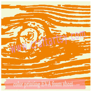 Color Printed EVA Foam Sheet With Tree