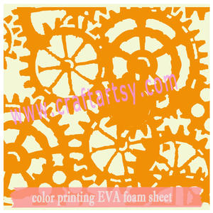 more size of print EVA foam sheet