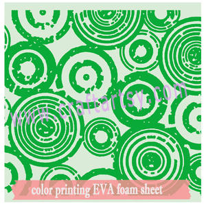 becautiful color printing eva foam sheet