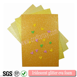 Whole sale Iridescent glitter eva foam sheets!