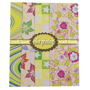 Hot sales! new Pattern printed EVA foam sheet