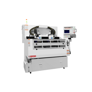 High precision cnc metal engraving machine manufacturer for middle frame.