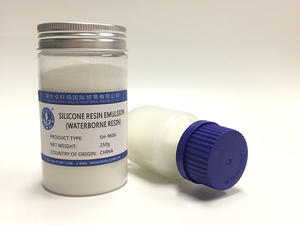 Acrylic Modified Methyl Phenyl Silicone Emulsion For Industrial Heat-resistant Paint SH-9606