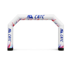Custom Outdoor advertising Inflatable arches / airtight arch for event and ceremony