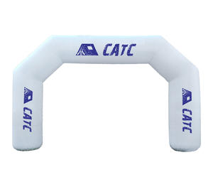 Custom Logo Advertising Entrance Start Finish Line Inflatable Arch With Cheaper Price