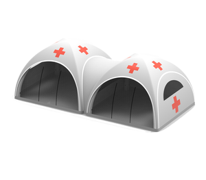 Fast Deployment Custom Inflatable Medical Tents to fight the COVID-19 together