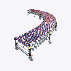 High quality flexible gravity roller conveyor manufacturer