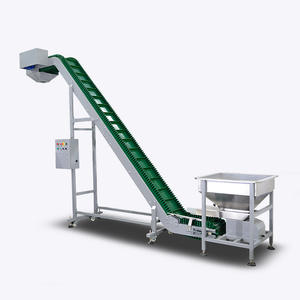 High capacity inclined pvc belt conveyor for sale