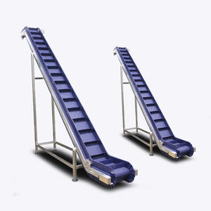High capacity slat belt conveyor for sale