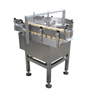 High quality rotary collecting table