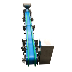 China pu flat belt conveyor price
