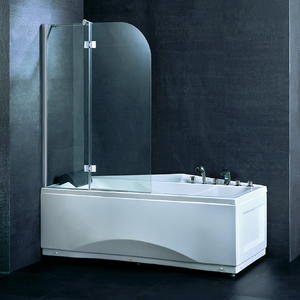BS02 Folding Bathtub Shower Screen