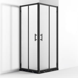 Professional double hinge door quadrant shower enclosure supplier