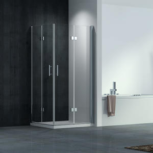 wholesale Frameless Bi-fold Shower Cubicle supplier price