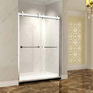double sliding shower door SRA122 Double Sliding Bypass Shower Door supplier