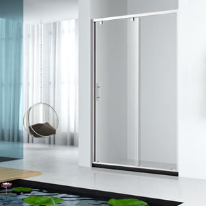 New design super slim frame sliding shower door