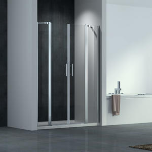 F144 Double Pivot Shower Door Swing Both Way