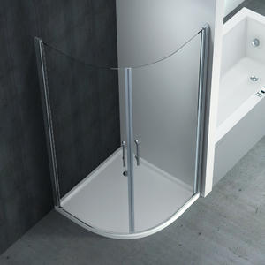 F224 Quadrant Pivot Double Swing Shower Enclosure