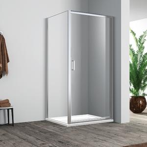 wholesale Good quality recess recess swing shower door manufacturing