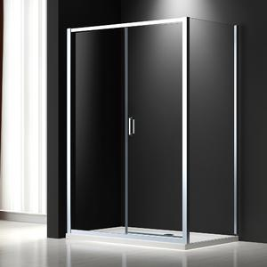 Pivot shower door for Italian market
