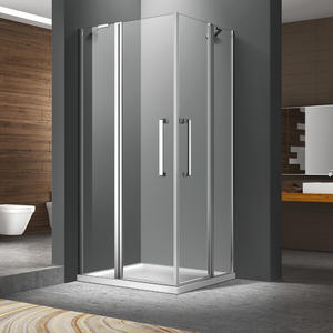 factory direct sale corner entry shower enclosure manufacturer