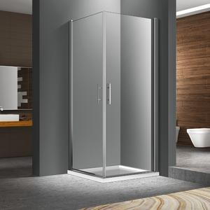 Double swing doors shower enclosure, quality double door shower enclosure