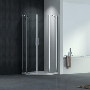 F244 Quadrant twin pivot doors shower enclosure