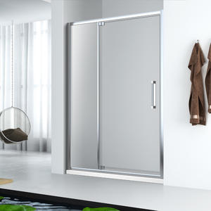 wholesale FD123 1 Fix and 1 Pivot swing shower door manufacturer