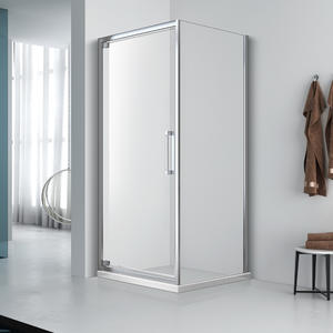 high quality Corner Entry Single Swing door shower enclosure manufacturer