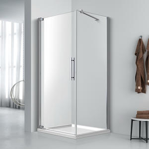 FE523 Single Door Corner Entry
