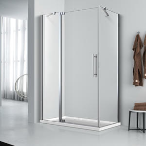 FE533 Rectangle Pivot Shower Door