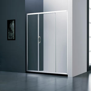 JT131 Double Roller Economic Sliding Shower Door