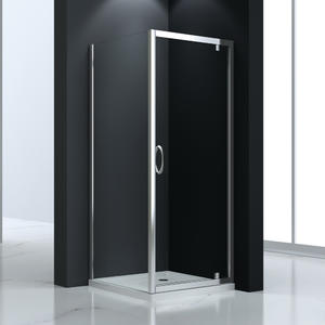 JTP523 pivot door shower enclosure  Front part can be sold as pivot door and combine with side panel to a corner shape