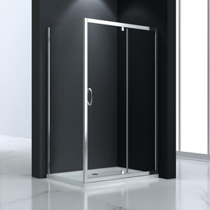 JT533 Fixed and Swing Pivot Bath Shower Screen  Front part can be sold as pivot door and combine with side panel to a corner shape