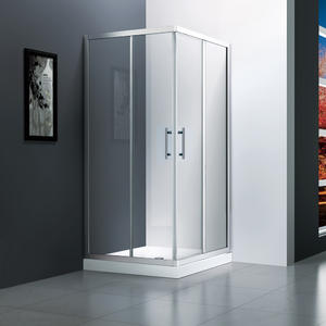 M542 twin sliding shower enclosure  Twin doors revolving shower enclosure