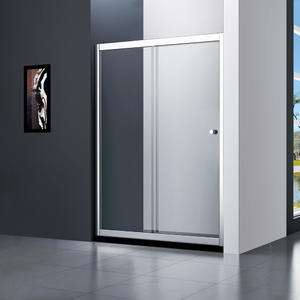 T121 economic sliding shower doors