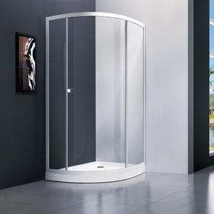 T231 Single Door Offset Quandrant Shower Screen