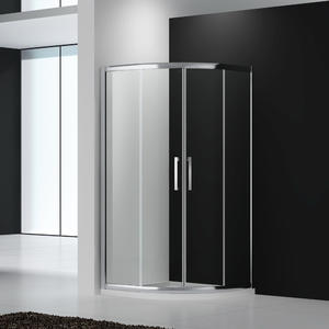 U242 Quadrant twin sliding shower enclosure