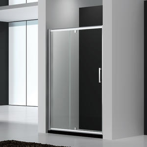 UP123 Recess Pivot Shower Door