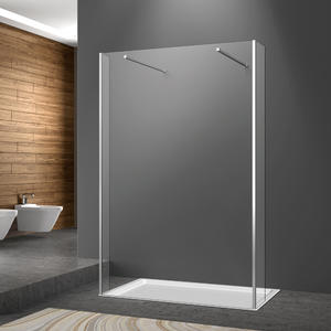 Double Fliper Frameless Walkin Shower Enclosure Suppliers | Welleader