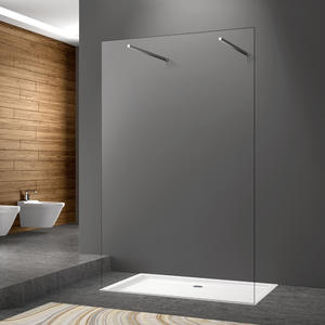 WA07 frameless walk-in shower screen | Welleader