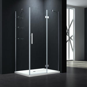 P533 Hinge Door Shower Enclosure With Shelves