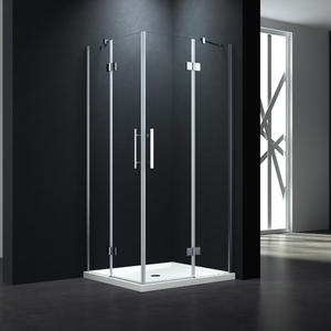 P544 Twin doors swing shower enclosure