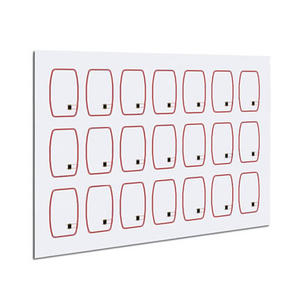 13.56MHz HF RFID Wet Inlay PVC Sheet For PVC Smart Card Production