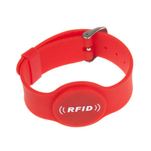 Waterproof Chip NFC RFID Silicone Wristband Manufacturer