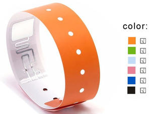 Low Cost Ultralight Chips RFID Wristband for Event with 15 Years Experience